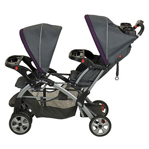 Baby Trend Sit N Stand Double Travel System Stroller & Car Seat - Elixer by Baby Trend (Image #3)