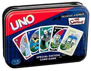 Uno: Simpsons Treehouse Of Horror