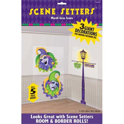 Mardi Gras Icons Scene Setters -