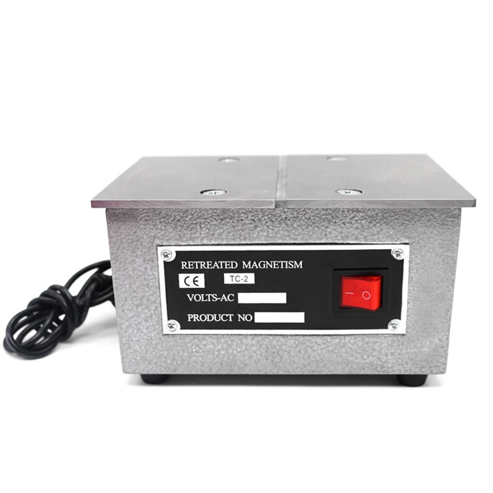 WUPYI TC-2 Bench Demagnetizer,Degaussing Machine Demagnetization Degaussing Tool 110V 200W