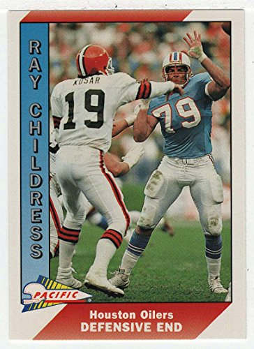 Ray Childress (Football Card) 1991 Pacific # 169