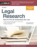 img - for Legal Research: How to Find & Understand the Law book / textbook / text book