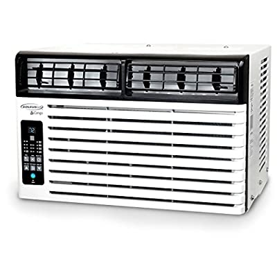 SoleusAir WS2-06E-201 Energy Star 6,400 BTU 115V Window-Mounted Air Conditioner with LCD Remote Control