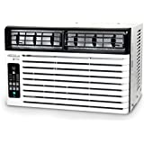 SoleusAir WS2-08E-201 Energy Star 8,500 BTU 115V Window-Mounted Air Conditioner with LCD Remote Control
