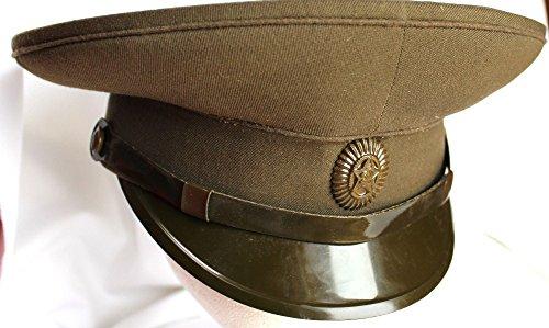 (Afghanistan SOVIET U.S.S.R. military UNIFORM DRESS HAT 56 CM )