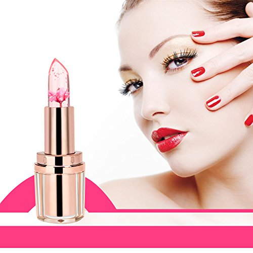 PrettyDiva-Jelly-Flower-Lipstick-Lip-Care-Temperature-Change-Moisturizer-Lipstick-Lip-Balm-Barbie-Doll-Pink