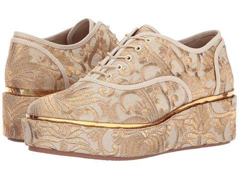 (トリーバーチ)TORY BURCH レディースウォーキングシューズ?カジュアルスニーカー?靴 Arden Platform Oxford [並行輸入品]