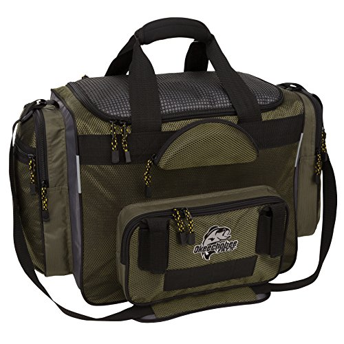 OkeeChobee Fats Fisherman Deluxe Tackle Bag (Bag Fishing)