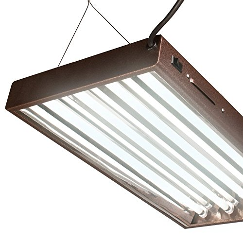 Agrobrite Designer T5 96W 2' 4-Tube Daisy Chainable Grow Light Fixture (2 Pack) by AgroBrite (Image #3)