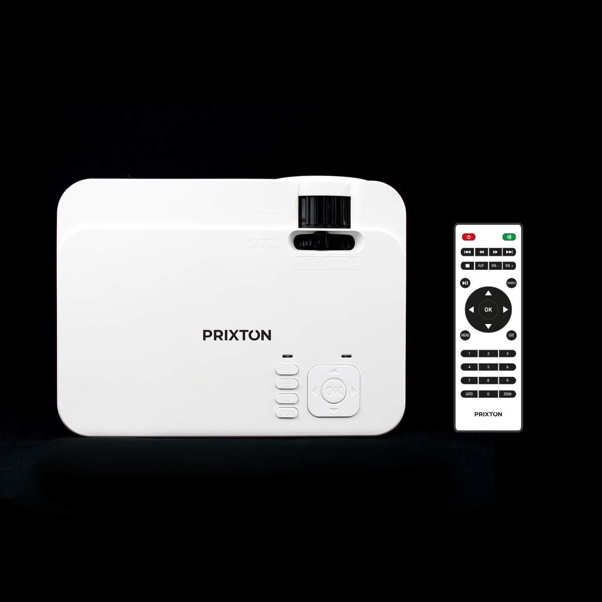 PRIXTON Goya P20 - Mini Proyector Portatil / Proyector Cine en ...