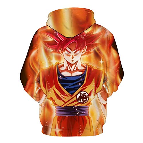 Sweats Grande 6xl Homme Taille Série s Animation Imprimé Ball Pull 3d Unisexe Dragon Charmley À J Capuche Cosplay gXOwaqqnx