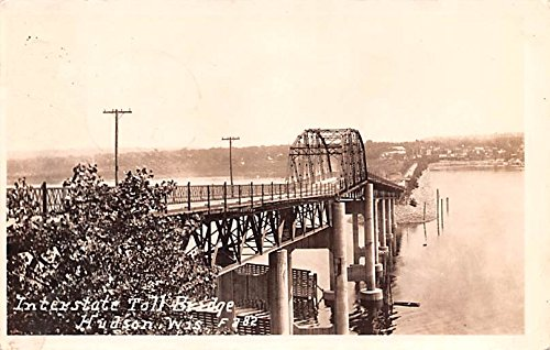 - Interstate Toll Bridge Hudson, Wisconsin postcard