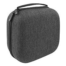 Headphones Case for AKG K701, Q701, Beyerdynamic DT990, DT880 Pro, SHURE SRH840, SRH440, SHR550, SHR940 and More / Full Size Hard Large Headphone Carrying Case / Travel Bag
