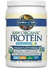 Garden of Life Raw Organic Protein Chocolate Powder, 20 Servings, Certified Vegan, Gluten Free, Organic, Non GMO