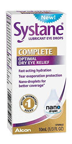 Systane Complete Lubricant Eye Drops, 10mL