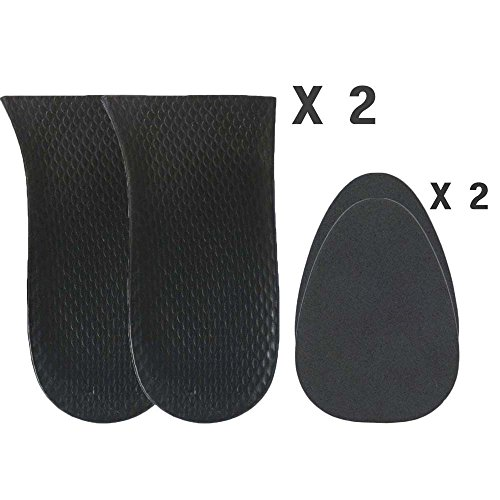 Cushion Pad Insert Lift for Limb Leg Length Discrepancy and Uneven Hips (2 Right + 2 Fillers) ()