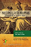 Paul's Epistle to the Philippians: A Remedy for the Spiritual