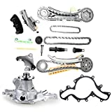 ECCPP Timing Chain Kit&Water Pump with Gasket for 97 - 10 Ford EXPLORE 4.0L SOHC V6 VIN Codes E N