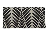 Plan B Tobacco Pouch YOLO Zebra – Cotton 17.5 X 8.5 cm 50 g Capacity. Black and Beige