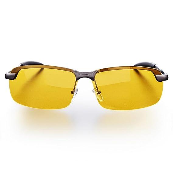 FTVOGUE Conducción Nocturna Vista polarizada Gafas de Seguridad Antideslumbrante Gafas de visión Nocturna HD antirreflectantes: Amazon.es: Ropa y accesorios