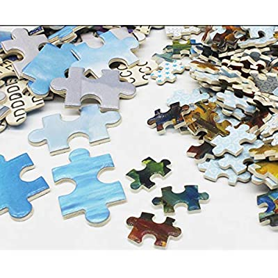 1000 Pieces Jigsaw Puzzles,Dunluce Castle Northern Ireland UK,Educational Intellectual Decompressing Fun Game for Kids Adults,29.53 X 19.69 in: Toys & Games