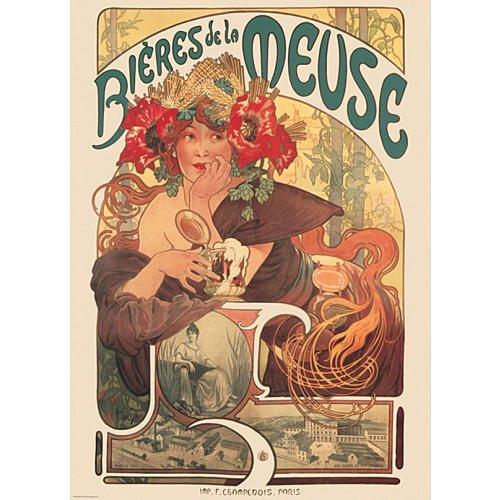 Mucha Bieres De La Meuse Puzzle