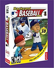Amazon Com Backyard Baseball 2005 Pc Video Games