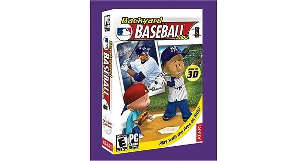 Backyard Baseball 2001 Roster - House Backyards