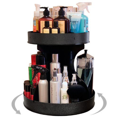 Professional Stylists and 'Divas' Will Love 15' Wide, Spinning Cosmetic Organizer. Great for Salons or for Cosmetic Divas! Made by PPM in the USA!