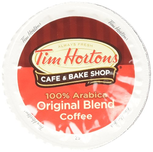 Tim Horton's Single Serve Coffee Cups, Original Blend, 24 Count by Tim Hortons