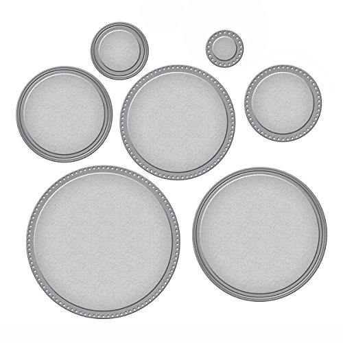 (Spellbinders Nestabilities Scored and Pierced Circles Etched/Wafer Thin Dies)