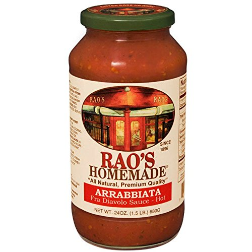 Raos Specialty Food Homemade Arrabbiata Premium Pasta Sauce, 24 Ounce -- 12 per case. by Raos Specialty Food