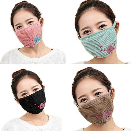 Ayygiftideas-5pcs-Womens-Dustproof-Mouth-Muffle-Cycling-Windproof-Face-Mouth-Mask-a