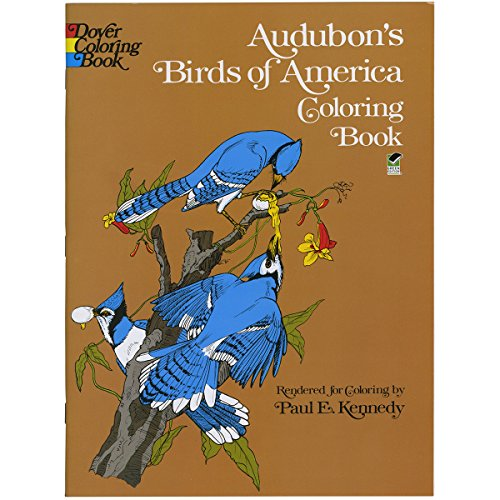 Price comparison product image Audubon's Birds of America Coloring Book