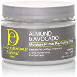Design Essentials Natural Almond & Avocado Moisture Primer Pre - Styling Whip, 12 Oz