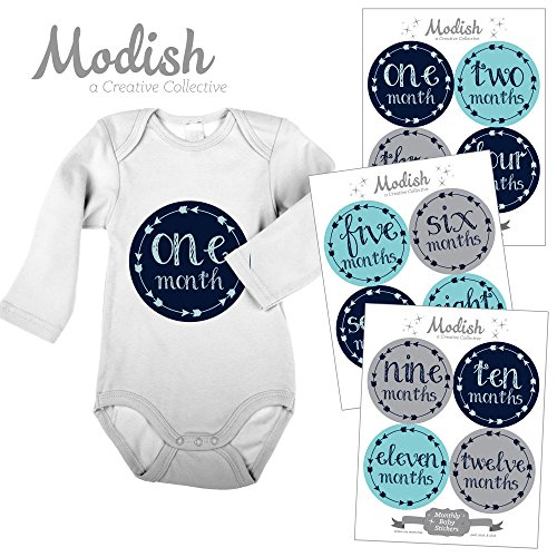 Monthly Stickers Months Arrows Tribal product image