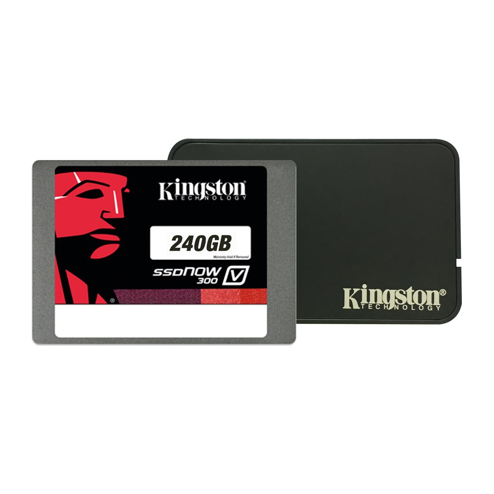 Kingston Digital Inc 240 Gb Notebook Bundle Kit With Ssd Now Uv400 Series 240gb Suv400s37 240g Adapter Solid State Drive Sv300s3n7a Computers Accessories