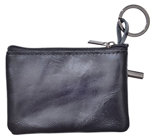 debc04d98e9 Yeeasy Womens Mini Coin Purse Wallet Genuine Leather Zipper Pouch with Key  Ring (Style2 -