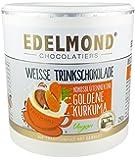 Edelmond Bio Goldene Kurkuma Latte. Mit frischer Kurkumawurzel. Kein Gewürzpulver und ohne Zucker, nur Kokosblütennektar. 250gr.