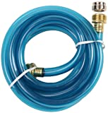 Kitchen Faucet Hose Adapter G.T. Water Products, Inc. 157 10-Foot Drain King Hose and Brass Faucet Kit