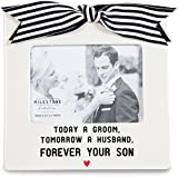 Pavilion Gift Company 63048 Forever Your Son Photo Frame, 7 x 7""