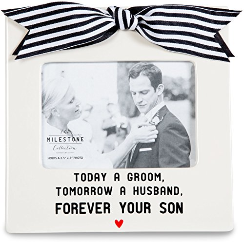 Pavilion Gift Company 63048 Forever Your Son Photo Frame, 7 x 7'
