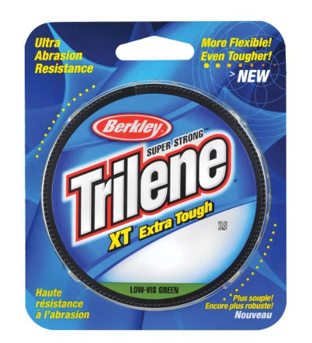 Berkley Trilene XT Filler 0.014-Inch Diameter Fishing Line, 10-Pound Test, 330-Yard Spool, Low Vis Green 10 Lb Test Fishing Line