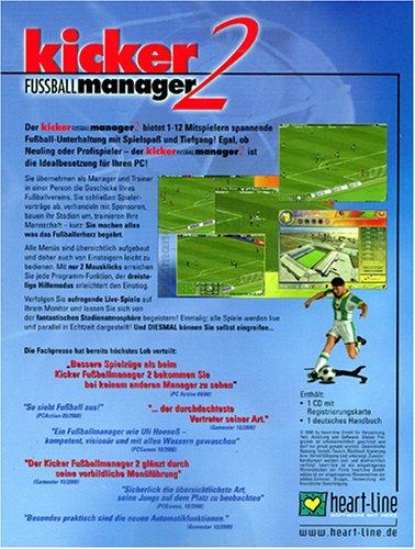 Kicker Fussballmanager 2 Eurobox Windows Amazon De Games