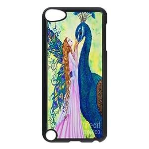 LTTcase DIY Custom peacock Case for ipod touch5