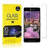 Google Pixel 2 Screen Protector Film, UNEXTATI® Tempered Glass Screen Protector, HD Clear