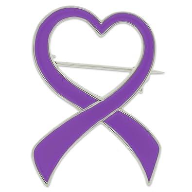Amazon Pinmarts Purple Heart Domestic Violence Awareness