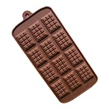 Food Grade Chocolate Cookies Mold Icing Waffle Silicone Baking Mould
