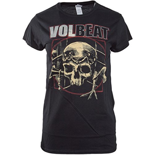 Volbeat Voodoo Skull LADYSHIRT