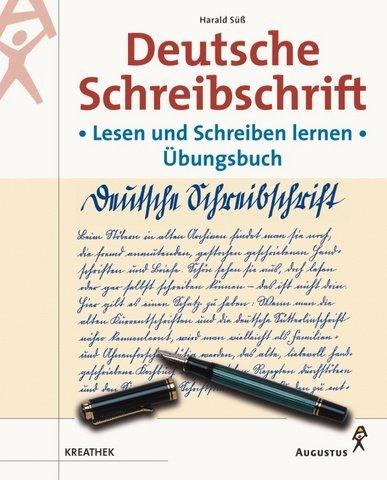 Deutsche Schreibschrift, Übungsbuch